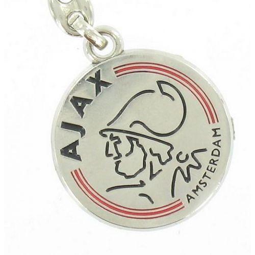 Ajax Sleutelhanger Metaal  Logo (SLEU011700)