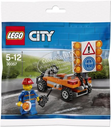 Wegwerker Lego (30357)