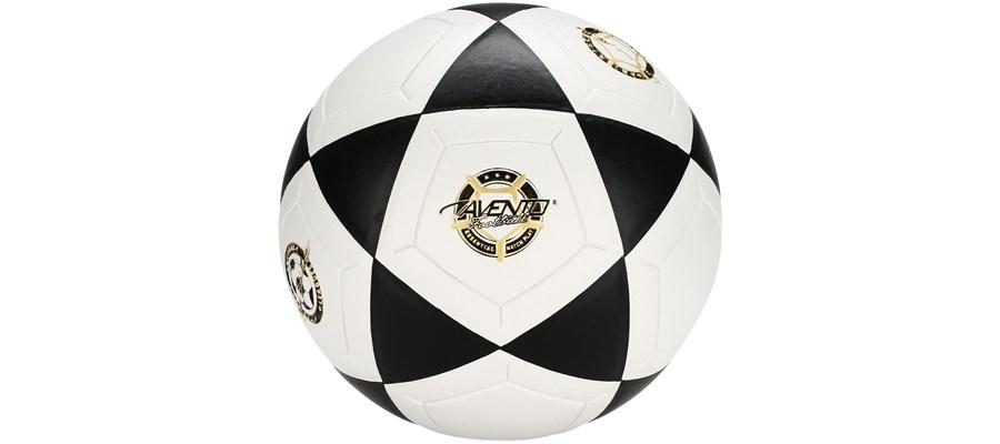 Voetbal PVC Gelamineerd Wit/zwart/goud