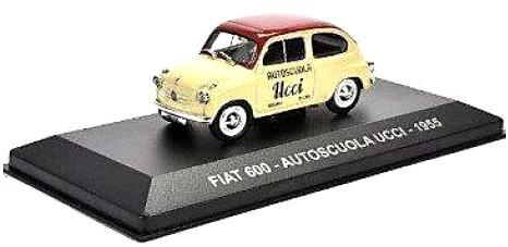 Fiat 600 AUTOSCUOLA UCCI 1955 (1:43)ATLAS