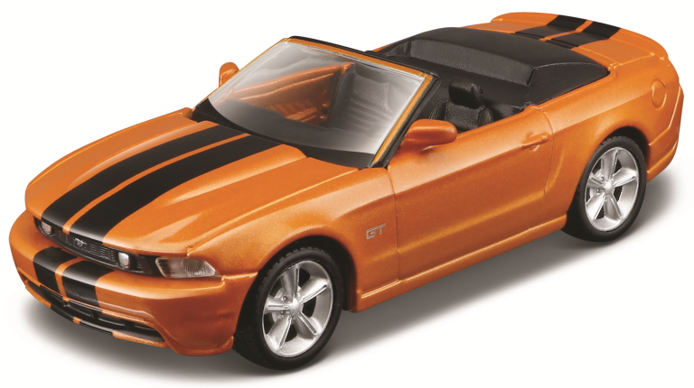 FORD MUSTANG GT CABRIOLET 2010 PULL-BACK4.5INCH