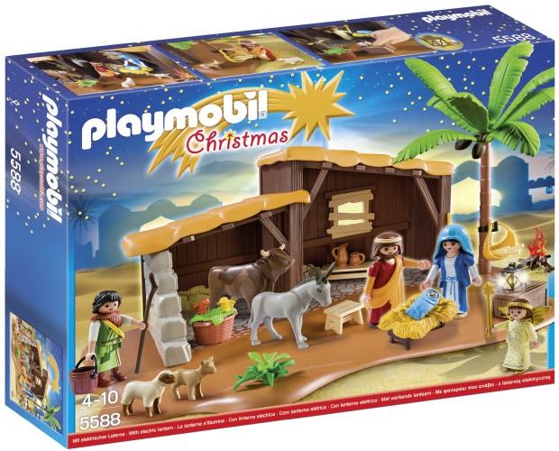 Grote kerststal Playmobil (5588)