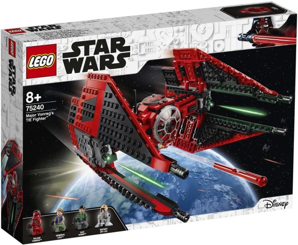 Major Vonregs TIE Fighter Lego (75240)