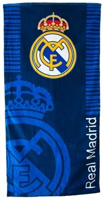 Badlaken Real Madrid Blauw 150 x75