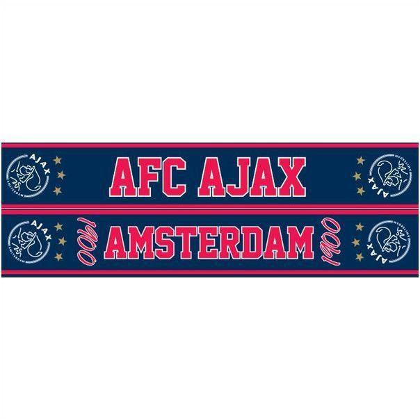 Ajax Sjaal Denim AFC 1900 3 Sterren