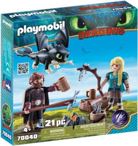 Speelset Hikkie en Astrid Playmobil (70040)