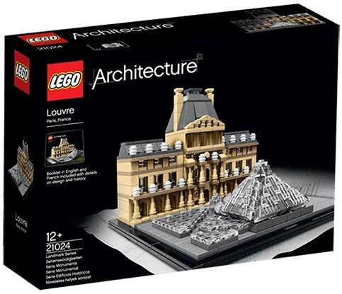Architecture Louvre Lego 21024