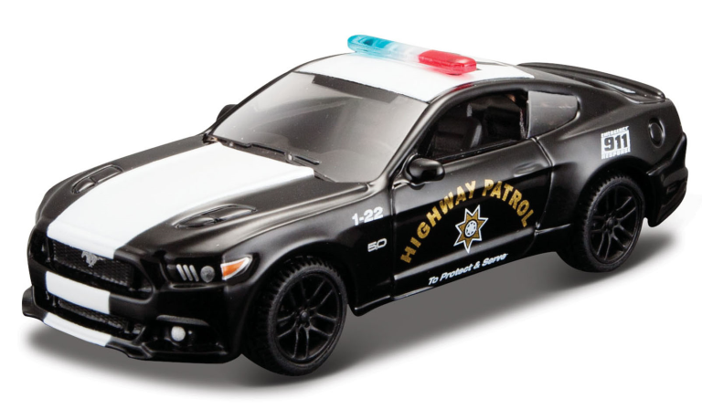 FORD MUSTANG GT POLICE 2015 (1:64) MAISTO