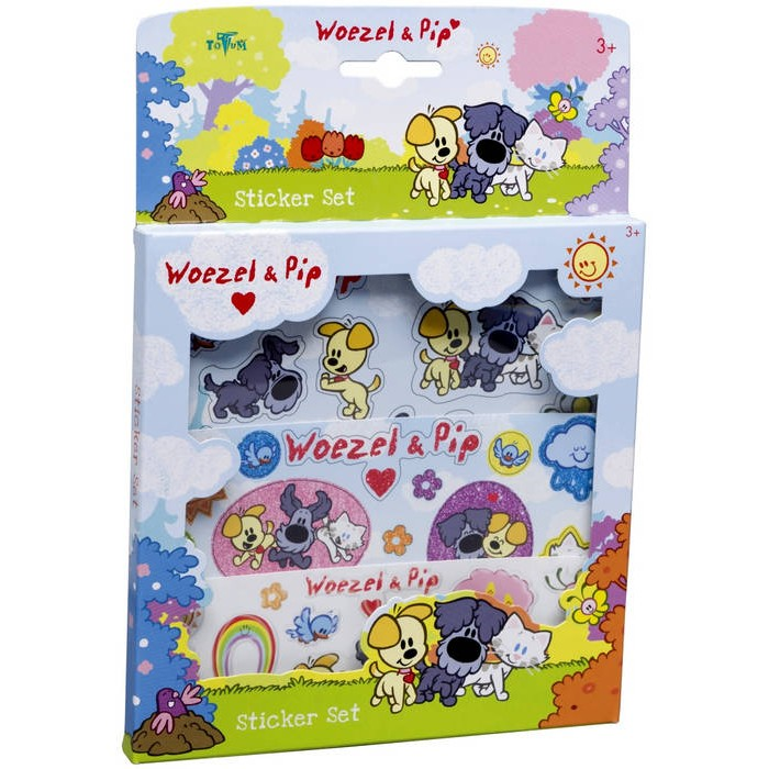 Sticker set Woezel en Pip ToTum (670006)