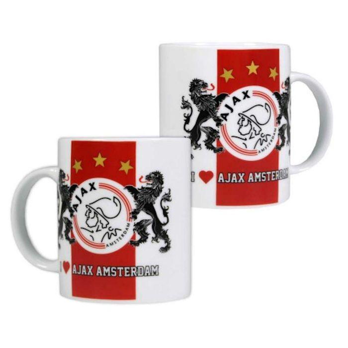 Mok Ajax Rood/Wit Amsterdam Leeuwen