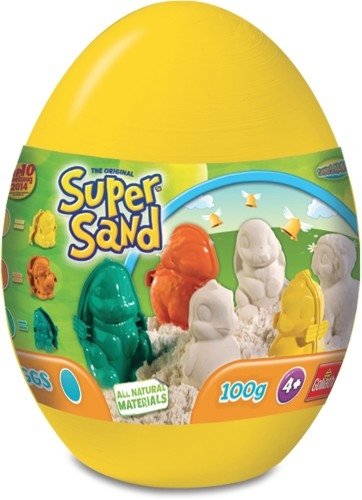 Super Sand Egg Sands Alive: Yellow (xxxxx/83260)