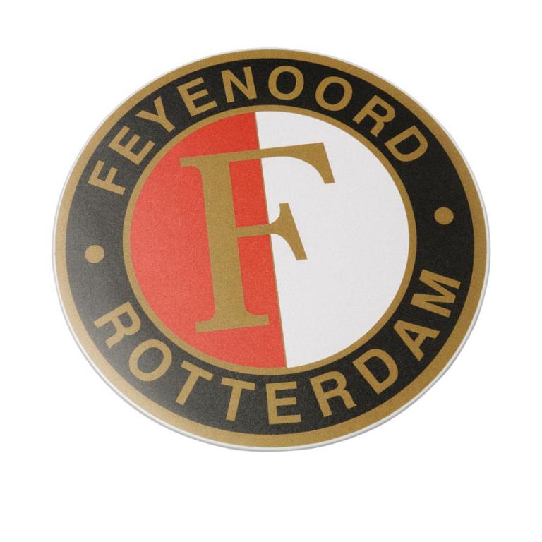 Muismat Feyenoord logo (MUIS020050)