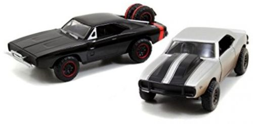 F&F TWIN PACK CHEVORLET CAMARO 1967+DODGE CHARGER 1970 S (1:32)