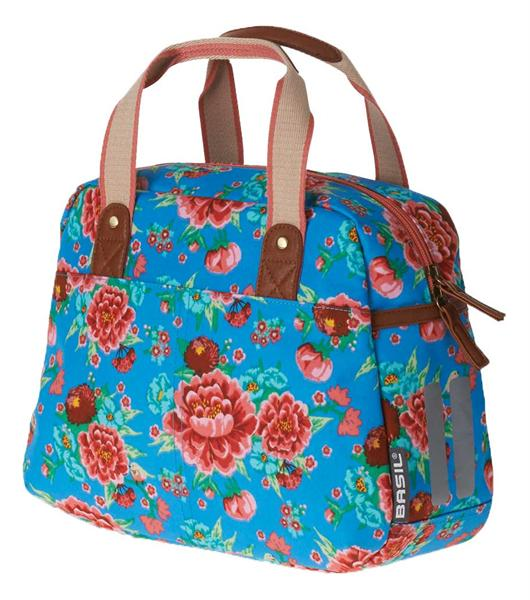 TAS BAS BLOOM GIRLS CARRY ALL DIVA BLAUW 11L