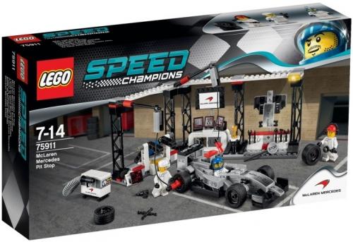 McLaren Mercedes Pit Stop Lego 75911