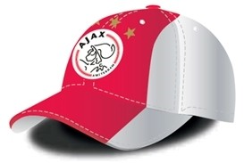 Cap Ajax Senior wit met rode Baan (6363009)
