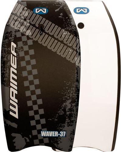 Surf Board Bodyboard EPS Zwart/Zilvergrijs/Wit