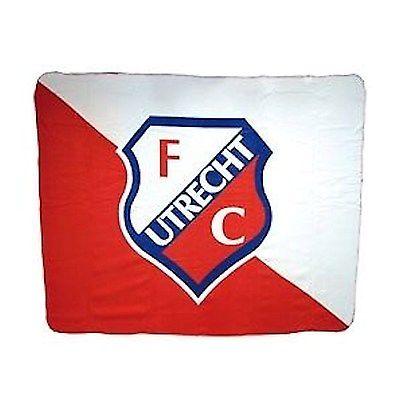 Fleeceplaid FC Utrecht 130x160