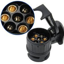 Trekhaak stecker adapter 13/7 12 volt