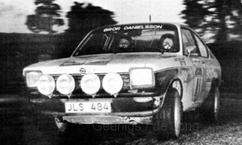 Opel KADETT GT-E -41 DANIELSSON-SUNDBERG RAC 1976 (1:43)