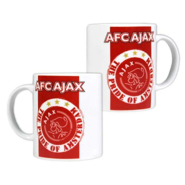 Mok Ajax rood/wit Pride MOK0101402