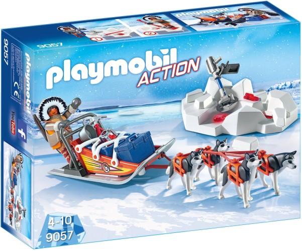 Poolreizigers met hondenslee Playmobil (9057)