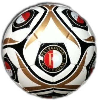 Bal Feyenoord Leer Large Classic Logo´s