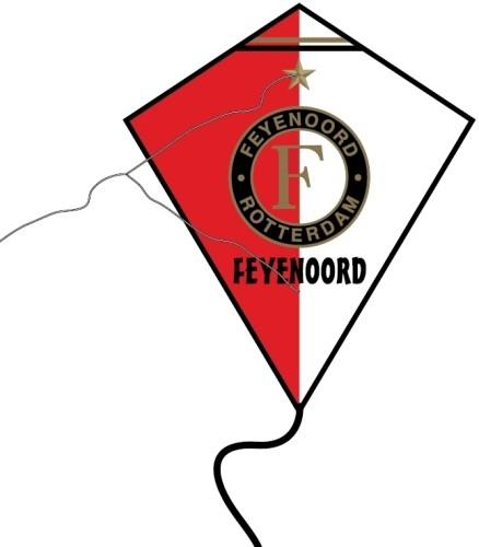 Vlieger Feyenoord 60x70 cm (VLIE020100)
