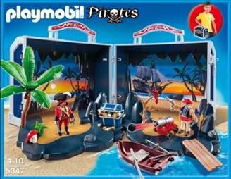 Mijn Meeneem Piratenschatkist Playmobil 5347