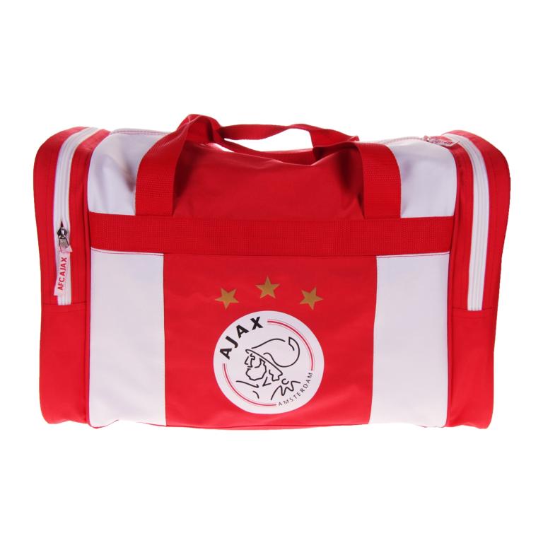Sporttas Ajax rood-wit logo 50x28x30 cm