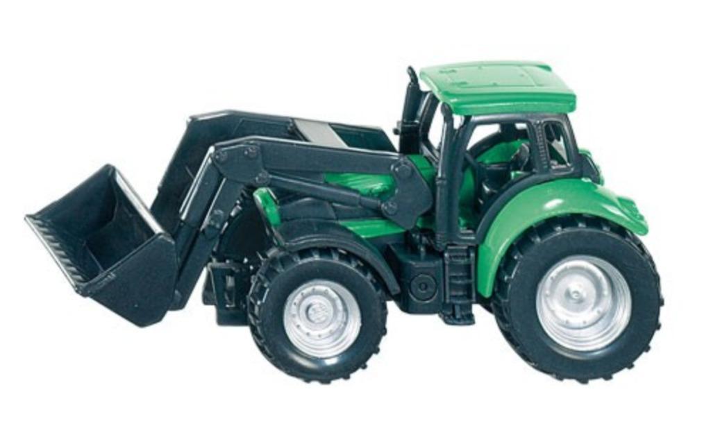 Tractor Deutz with Front Loader SIKU