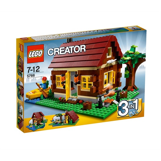 Vakantiehuisje Houthakkershut Creator Lego 5766