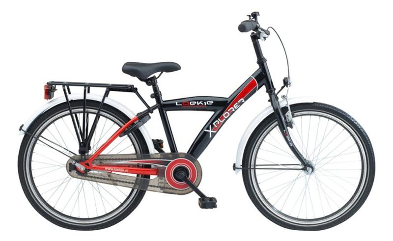 22INCH LOEKIE X-PLORER JS BLACK/RED