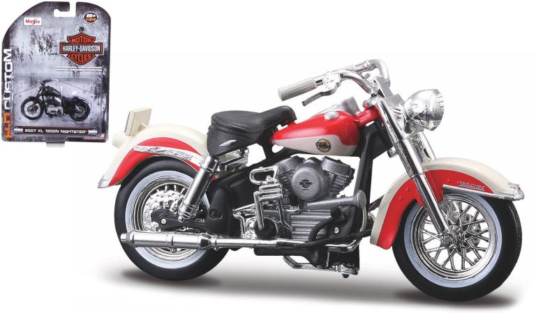 Harley-davidson FLH DUO GLIDE 1958 (MAISTO 1:24)