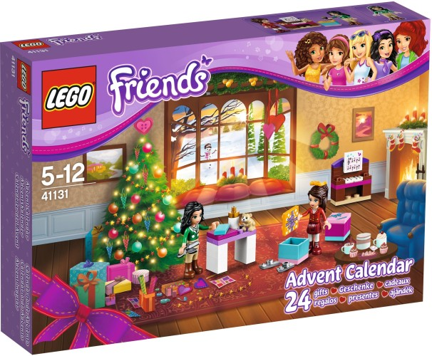 Adventskalender Friends Lego (41131)