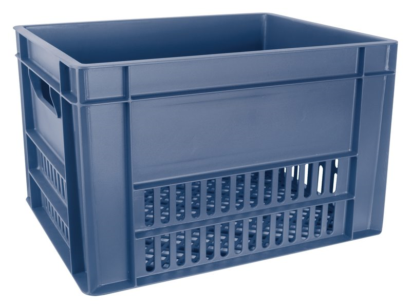 CORDO FIETSKRAT blauw/grijs 27X43X35 CM