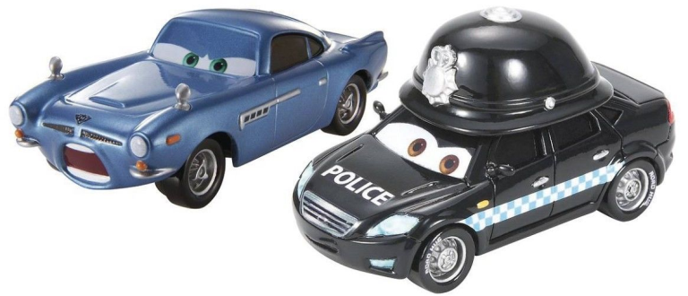 Cars 2 2-Pack Doug Speedcheck Finn McMissile Exclusive set
