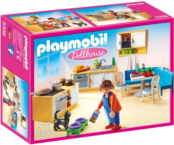 Playmobil Keuken met zithoek Playmobil (5336)