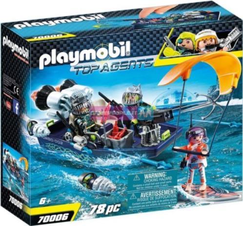 Team Harpoenboot SHARK Playmobil (70006)