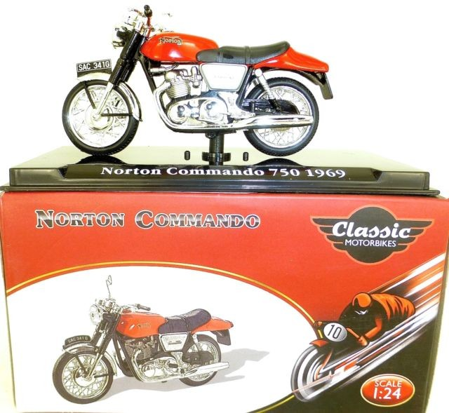 NORTON COMMANDO 750 1969 (1:24) ATLAS