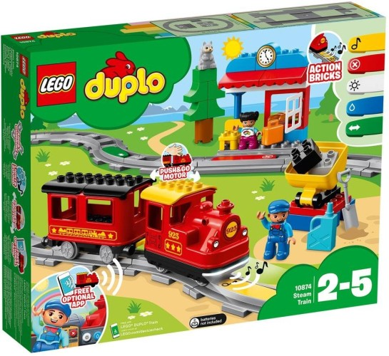 Stoomtrein Lego Duplo (10874)