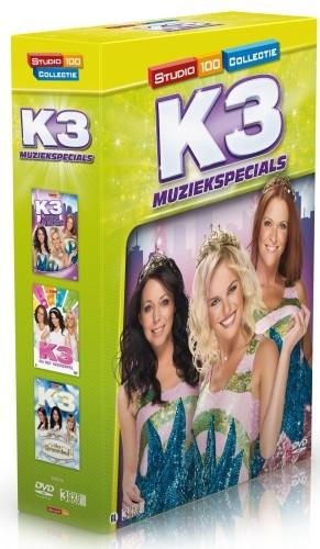 Dvd box K3 3 Stuks Muziekspecials