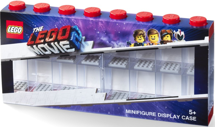 Lego Opbergbox Lego Movie 2 minifigs Rood 16-delig (RC031824)