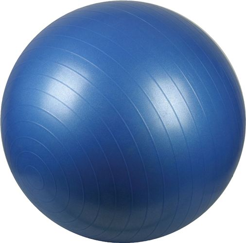Gymnastiekbal Fitness Bal 55 Blauw