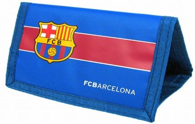 Portemonnee Barcelona Blauw-Rood