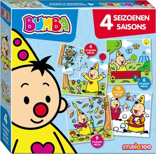 Puzzel Bumba 4 Seizoenen 4 Puzzels (PUZZ340104)