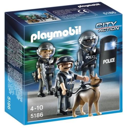 Playmobil Speciale Politie Eenheid 5186