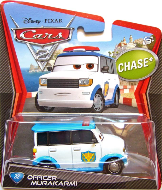 Officer Mattel Character Cars 2