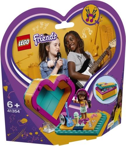 Andrea`s Hartvormige doos Lego (41354)