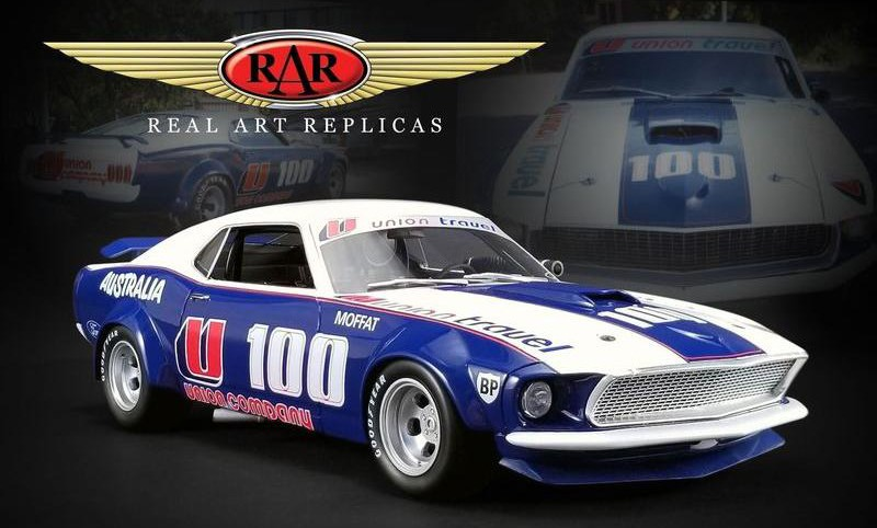 Ford MUSTANG BOSS 302 TRANS AM U100 (1:18) ACME